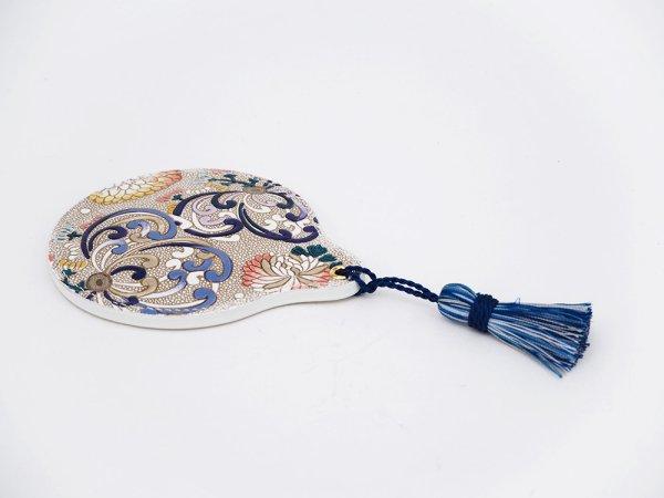 画像2: 乱菊<青紫> 手鏡