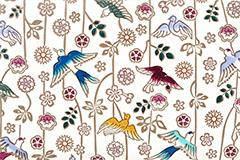 枝垂れ花鳥