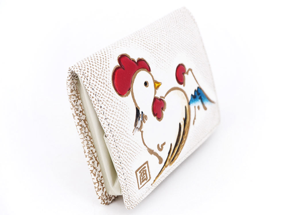画像2: 【予約2017年度干支財布】さいさき鳥 箱まち小銭入れ