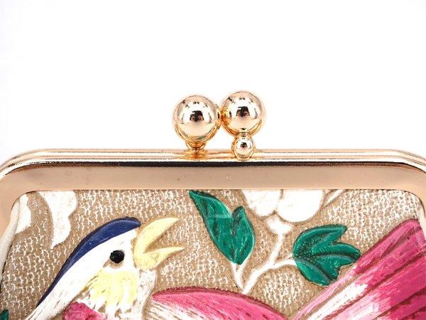 画像3: 鸚鵡 コロッと可愛いがま口