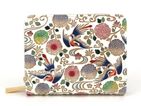 画像1: 花鳥 ぐるっとファスナーのお財布[n]