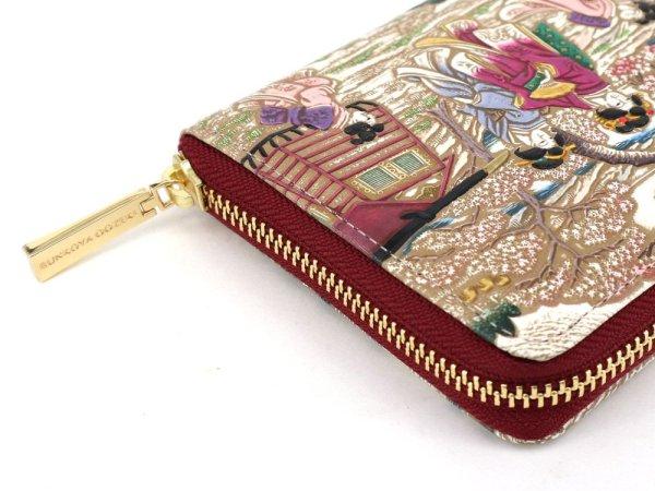 画像3: 浮世絵 御殿山(ごてんやま) ぐるっとファスナーの長財布[n][t]
