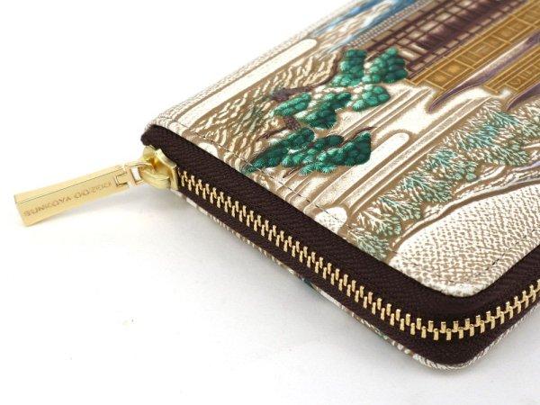 画像3: 浮世絵 金閣寺 ぐるっとファスナーの長財布[n][t]