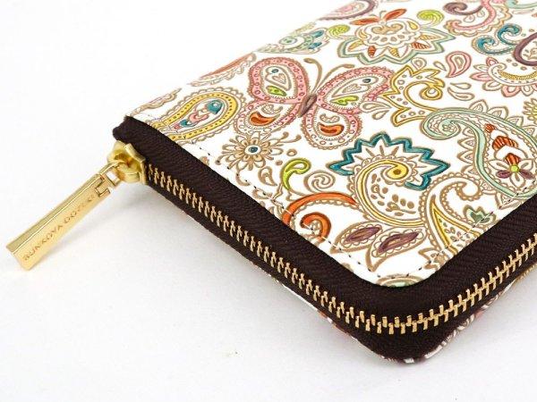 画像3: ペイズリー ぐるっとファスナーの長財布[n][t]