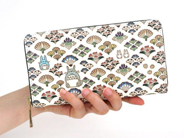 画像4: 【スタジオジブリ×文庫屋「大関」】となりのトトロ ぐるっとファスナーの長財布[n][t]