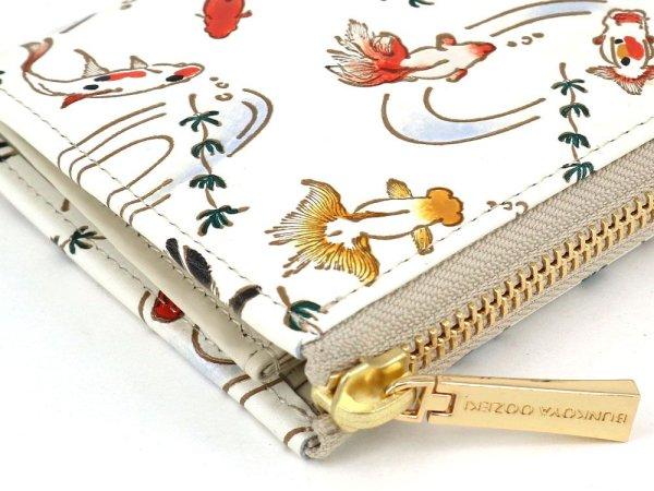 画像3: 【限定アイテム】金魚 L字ファスナーの小さなお財布