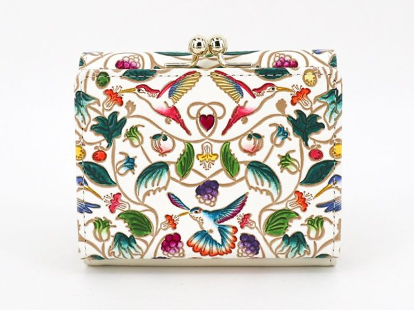 画像2: ハチドリの憂鬱 三つ折りミニ財布[n][t]