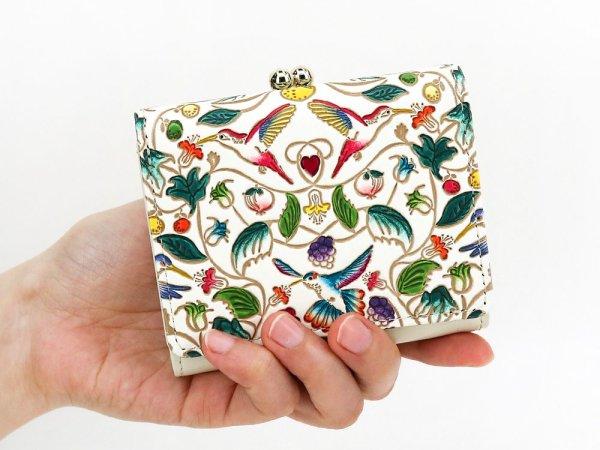 画像5: ハチドリの憂鬱 三つ折りミニ財布[n][t]