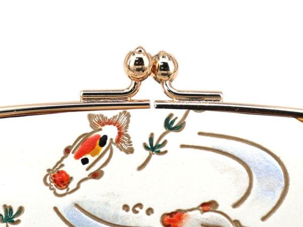 画像3: 販売終了 2021-8終了【8月下旬お届け 商品予約】金魚 天溝がま口[n][t]