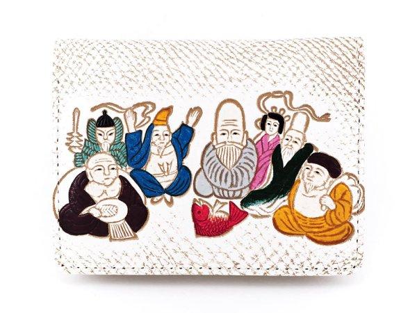 画像1: 七福神 箱まち小銭入れ