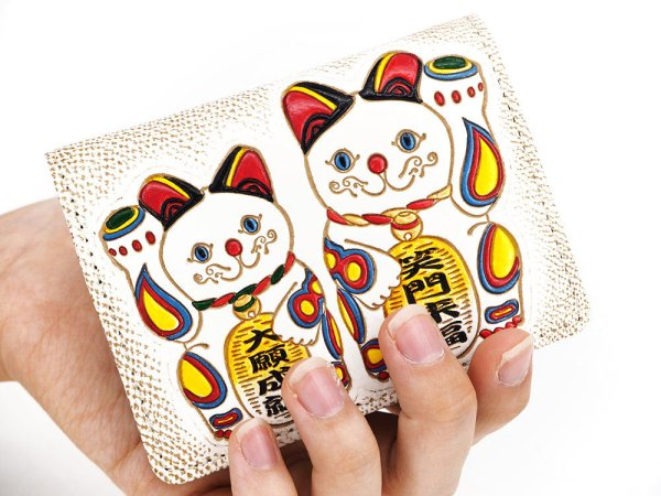 画像4: 招き猫 箱まち小銭入れ