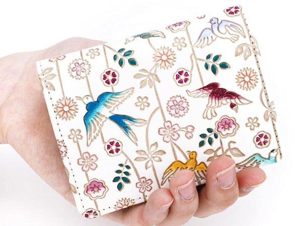 画像4: 枝垂れ花鳥 箱まち小銭入れ