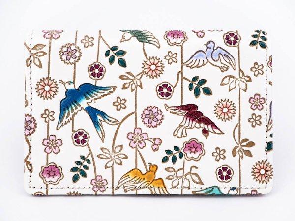 画像1: 枝垂れ花鳥パスカードホルダー