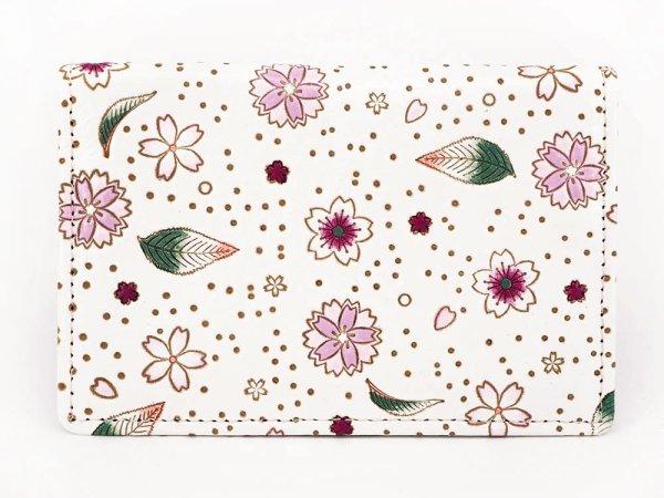 画像1: 桜散らし パスカードホルダー