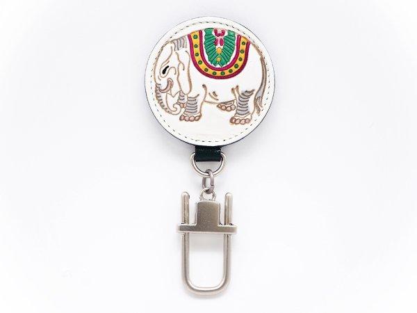 画像1: 象 キーホルダー