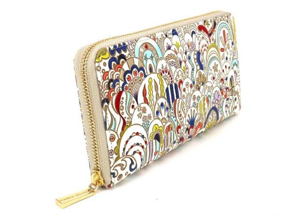 画像2: 貝がらの夢 ぐるっとファスナーの長財布[n]