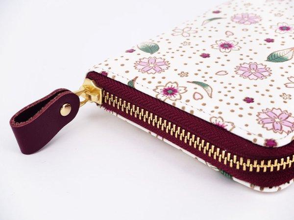 画像3: 桜散らし ぐるっとファスナーの長財布