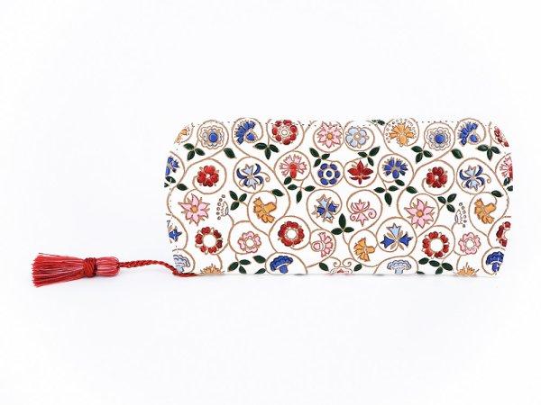画像1: 小花 メガネケース