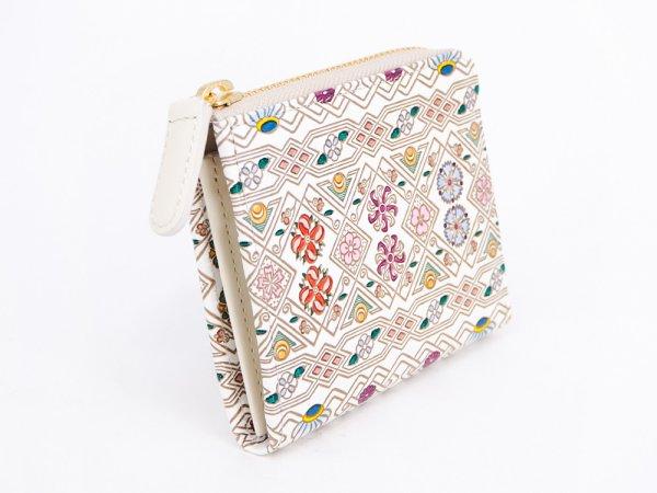 画像2: 【ネット限定】花菱  L字ファスナーの小さなお財布