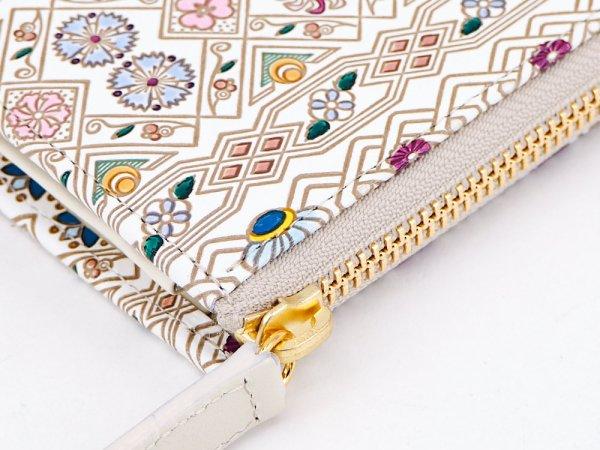 画像3: 【ネット限定】花菱  L字ファスナーの小さなお財布