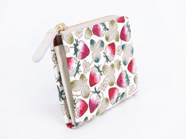 画像2: 【ネット限定】いちご  L字ファスナーの小さなお財布