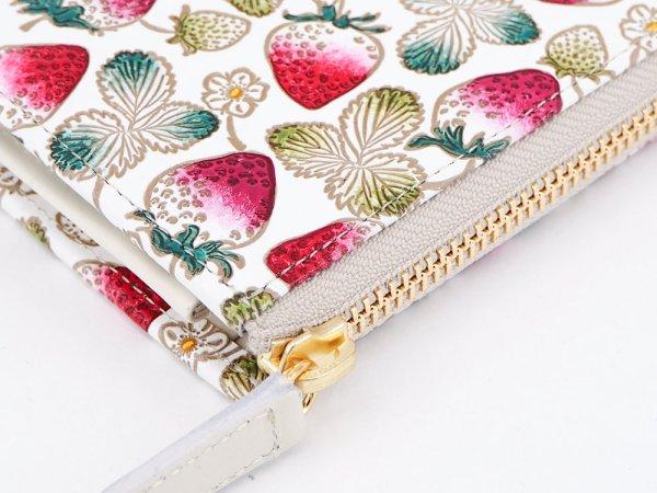 画像3: 【ネット限定】いちご  L字ファスナーの小さなお財布
