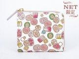 【ネット限定】飴<限定ピンク> L字ファスナーの小さなお財布