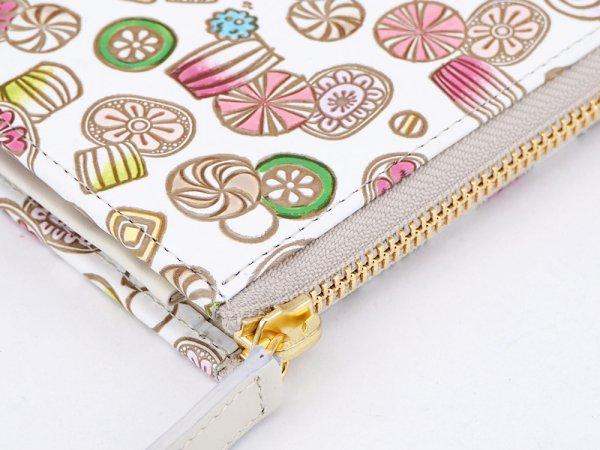 画像3: 【ネット限定】飴<限定ピンク> L字ファスナーの小さなお財布