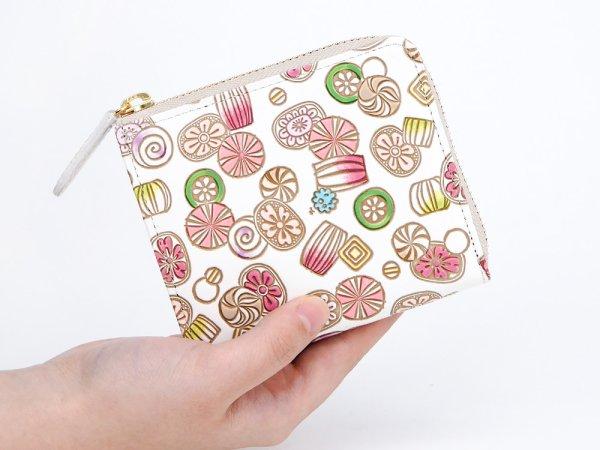 画像4: 【ネット限定】飴<限定ピンク> L字ファスナーの小さなお財布