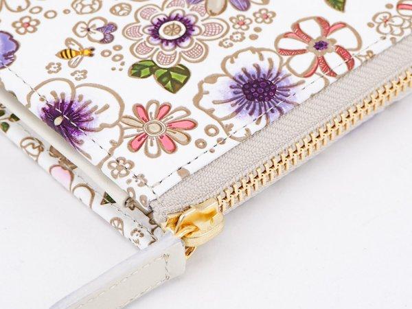 画像3: 【ネット限定】みつばち<限定パープル> L字ファスナーの小さなお財布