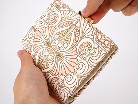 文庫屋「大関」がま口 二つ折り財布
