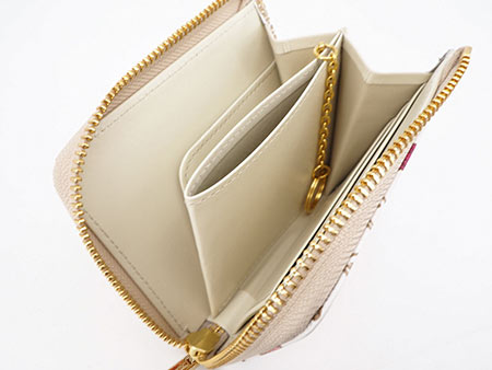 文庫屋大関 L字ファスナーの小さなお財布