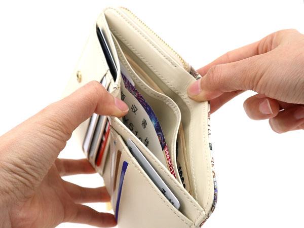 文庫屋「大関」ぐるっとファスナーのお財布