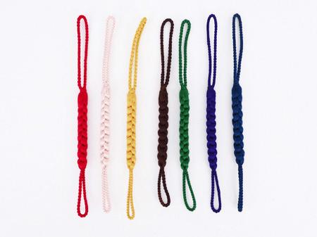 正絹組み紐の根付紐