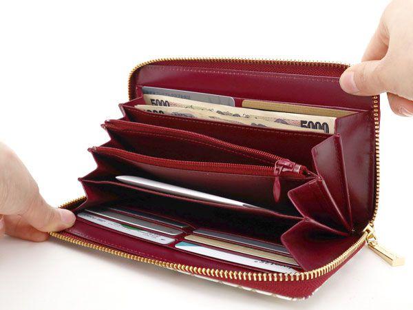 文庫屋「大関」 ぐるっとファスナーの長財布