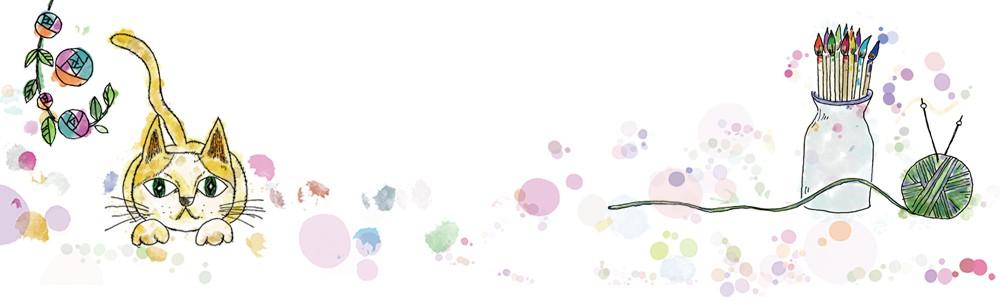 花と猫<ミックス>