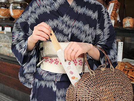 文庫屋「大関」の 扇子袋